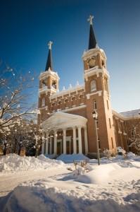 St. Als in Snow
