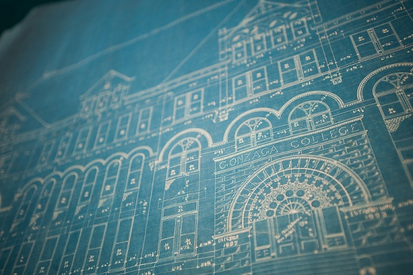 college hall blueprints