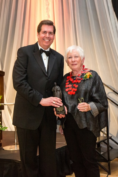 Gerri received the 2016 Ignatian Spirit Award