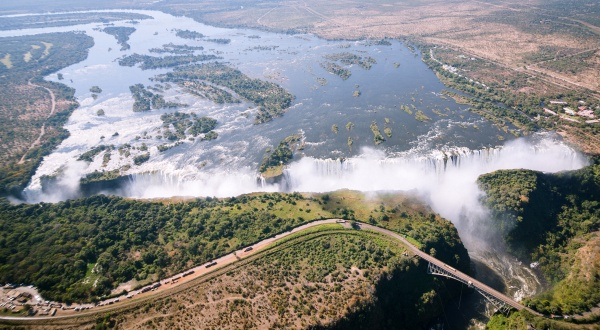 Victoria Falls in Southern Africa