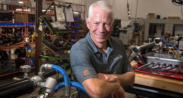 Terry Judge, CEO of Hotstart