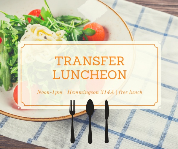 Transfer Luncheon